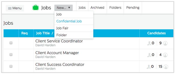 Confidential Job