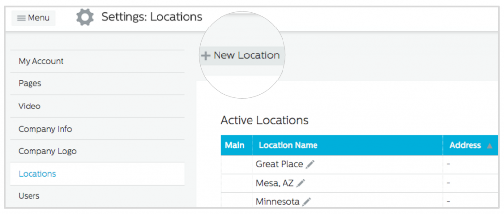 Add New Location in Recruiting.com