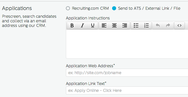 ATS Applications