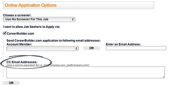 CareerBuilder Email Addresses